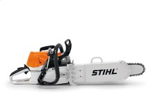 The STIHL MS 462 R C-M Rescue chainsaw is a real lifesaver.
