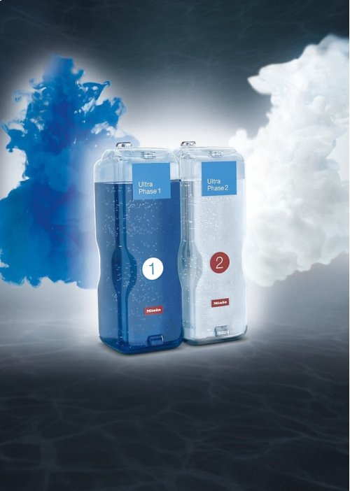 WA UP2 1401 L NA Miele UltraPhase 2 2-component detergent for whites and colors.