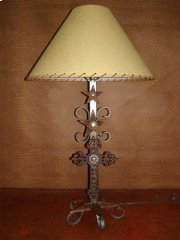 Metal Lamp With Cross Product Image