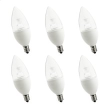 purePower B10 LED  6-Pack Dimmable purePower B10 LED