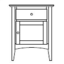 Sedona 1 Door 1 Drawer Nightstand