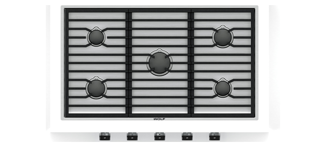 "Wolf36"" Contemporary Gas Cooktop - 5 Burners"