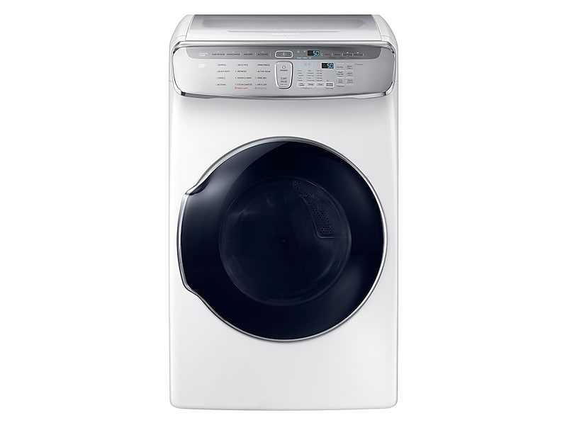 Samsung7.5 Cu. Ft. Flexdry™ Gas Dryer In White