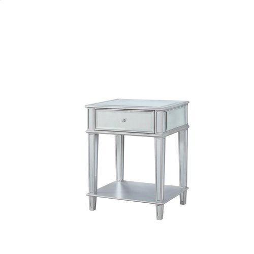 904014 Accent Mirrored Side Table