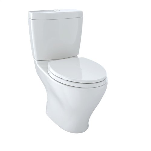 Aquia® Dual Flush Two-Piece Toilet, 1.6 GPF & 0.9 GPF, Elongated Bowl - Colonial White