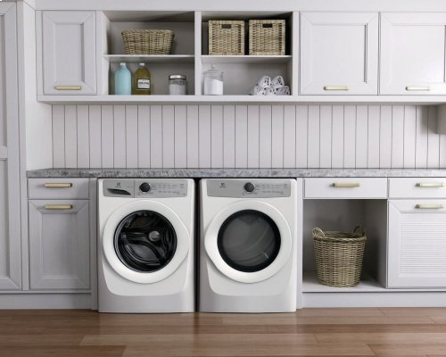 Front Load Gas Dryer with 5 cycles - 8.0 Cu. Ft.