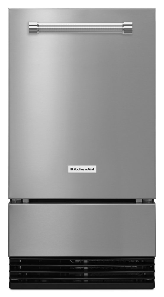 kuid308ess kitchenaid 18 automatic ice maker stainless steel rh hahnappliance com