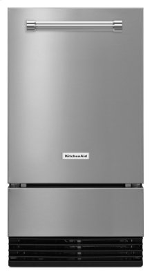 18'' Automatic Ice Maker - Stainless Steel