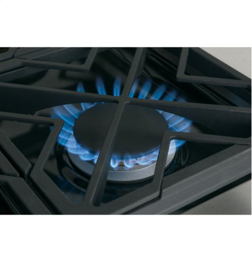"""GE Cafe™ Series 36"""" All Gas Professional Range with 6 Burners (Natural Gas)"""
