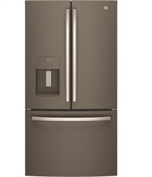 """36"""" Bottom mount French door refrigerator, 25.5 cu.ft."""