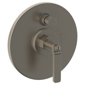 "Wall Mounted Pressure Balance Shower Trim With Diverter, 7 1/2"" Dia."