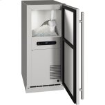 "u-lineOutdoor Collection 15"" Nugget Ice Machine With Stainless Solid Finish and Field Reversible Door Swing (115 Volts / 60 Hz)"