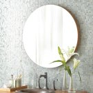"28"" Caramel Bamboo Solace Mirror Product Image"