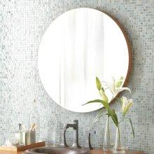 "28"" Caramel Bamboo Solace Mirror"