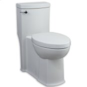 White Boulevard Flowise Right Height Elongated One-Piece Toilet