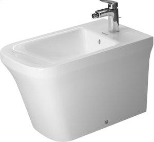 White P3 Comforts Bidet Floorstanding Product Image