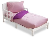 Pink/Purple Gingham 4-Piece Toddler Bedding Set - Kid bundle - Pink\/Purple Gingham (2006)