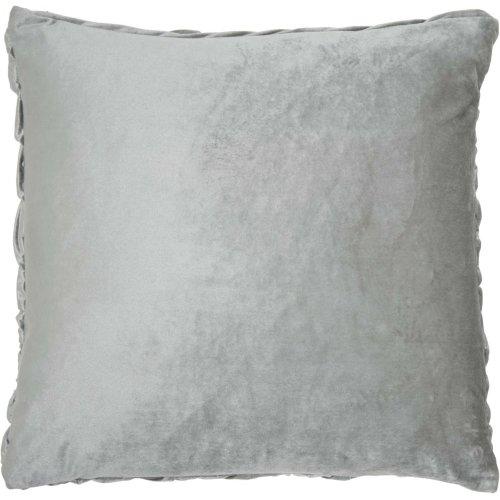 "Life Styles L0064 Light Grey 22"" X 22"" Throw Pillows"