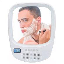 Fogless Light Up Mirror & Wireless Speaker