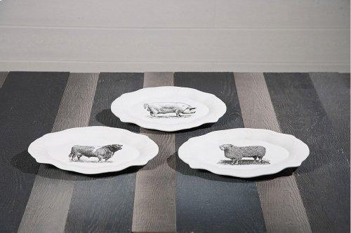 Maye Ceramic Plates - Ast 3