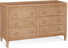 Naples Six Drawer Dresser