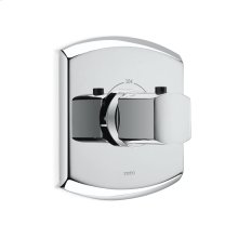 Soiree® Thermostatic Mixing Valve (Trim only) - Polished Chrome Finish