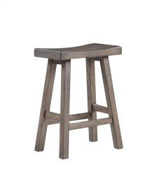 "Emerald Home Ac445-24 Whitmire 24"" Bar Stool, Brown"