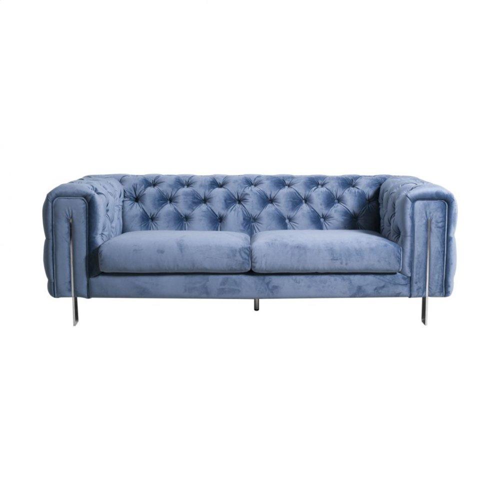 Courtney 2 Seat Sofa Aqua Blue