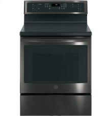 "GE Profile Series 30"" Free-Standing Convection Range with Induction"