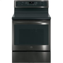 """GE Profile™ Series 30"""" Free-Standing Convection Range with Induction"""