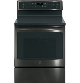 """GE Profile Series 30"""" Free-Standing Convection Range with Induction"""