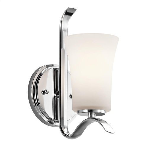 Armida Collection Armida 1 Light Wall Sconce - CH