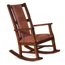 Santa Fe Rocker w/ Cushion Seat & Back
