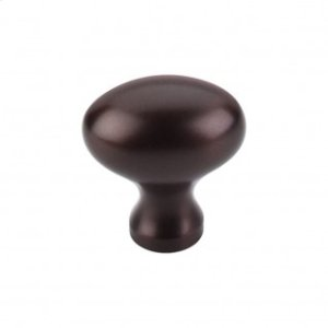 Egg Knob 1 1/4 Inch - Oil Rubbed Bronze