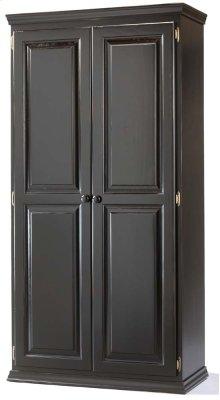 Solid Pine 2 Door Pantry Cabinet