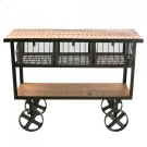MANGO WOOD CART Product Image