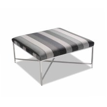 Daley Nickel Ottoman