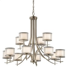 Tallie Collection Tallie Chandelier 12 Light AP