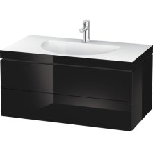 Furniture Washbasin C-bonded With Vanity Wall-mounted