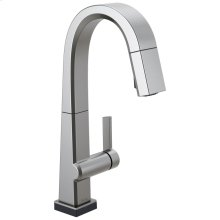 Arctic Stainless Single Handle Pull Down Bar/Prep Faucet With Touch 2 O Technology