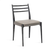 Beckham Side Chair - Charcoal/ Grey