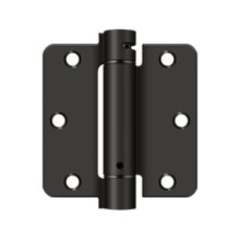 "3 1/2""x 3 1/2""x 1/4"" Spring Hinge - Oil-rubbed Bronze"