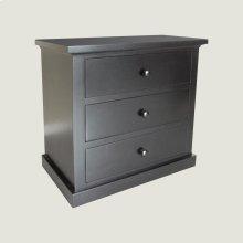 Large 3 Drawer Nightstand