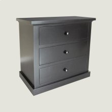 Large 3 Drawer Nightstand