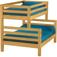 Bunkbed, Twin over Double, tall, extra-long
