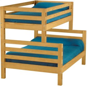 Bunkbed, Twin over Double, tall