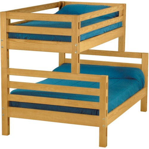 Bunkbed, Twin over Double, extra-long
