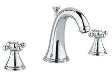 """Geneva 8"""" Widespread Two-Handle Bathroom Faucet"""