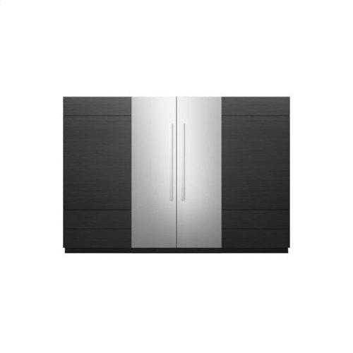 """Jenn-Air® 24"""" Panel Kit - Left Swing (Euro-Style Stainless) - Stainless Steel"""
