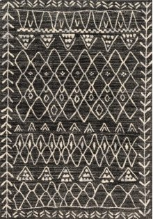 Black / Ivory Rug